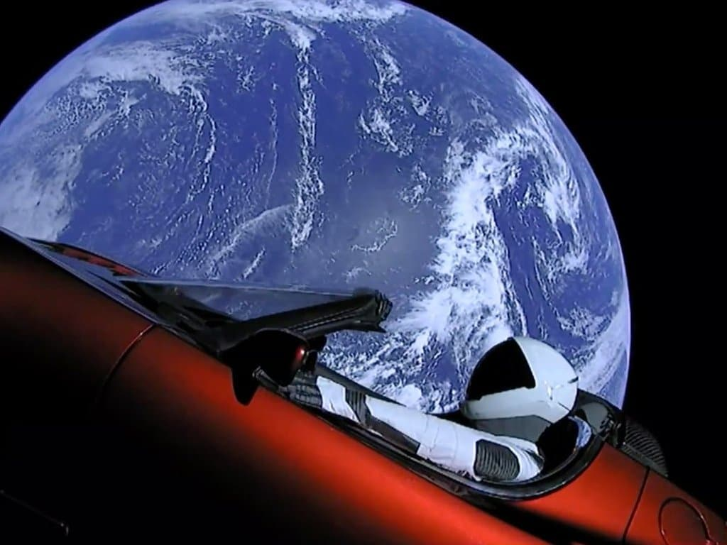 StarmanX Space Oddity Tesla Campaign